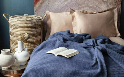 Try our blankets on cold evenings.