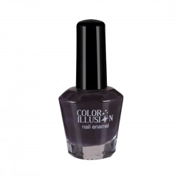 COLOR ILLUSION Nail Polish - Damson purple