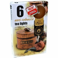 ANTI-TABACCO scented tealights 6 pcs