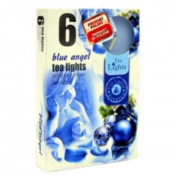 BLUE ANGEL scented tealights 6 pcs