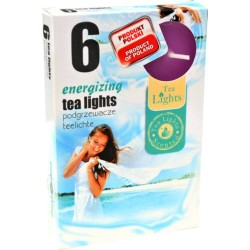 ENERGIZING scented tealights 6 pcs
