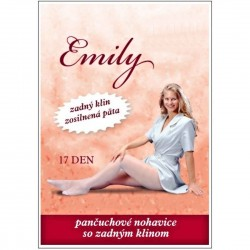 EMILY tights with a back wedge