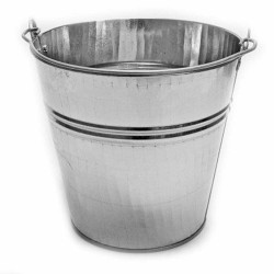 Galvanized bucket 7 liters