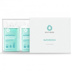 Dutybox - BATHROOM ceramic and sanitary ware cleaner concentrate 2 x 50 ml