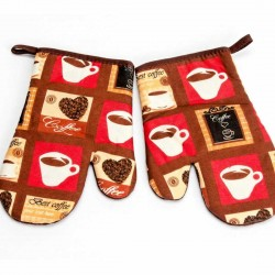 BEST COFFEE kitchen glove 2 pcs