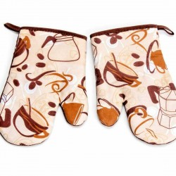 COFFEE 2 kitchen glove 2 pcs