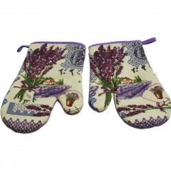 LAVENDER 2 kitchen glove 2 pcs