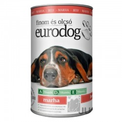EuroDog BEEF can for dogs 1240 grams