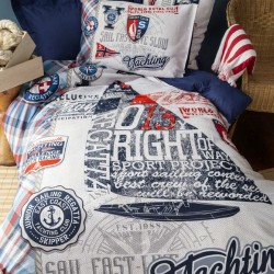 CRUISER cotton bedding with children's motif Issimo Home