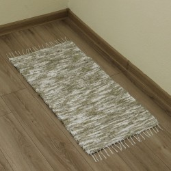55100A005 - hand-woven rug 55 x 100 cm - Brown