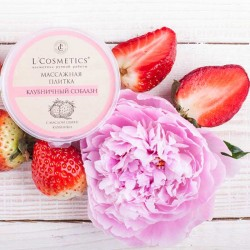 Strawberry Temptation - body massage plate with strawberry scent 60g