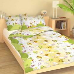 AERO cotton bedding with children's motif