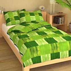 ANTHONY cotton bedding - green