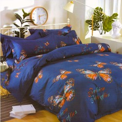 BUTTERFLIES crepe bed linen
