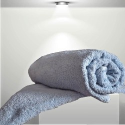 BASIC Light blue - terry towel, bath towel